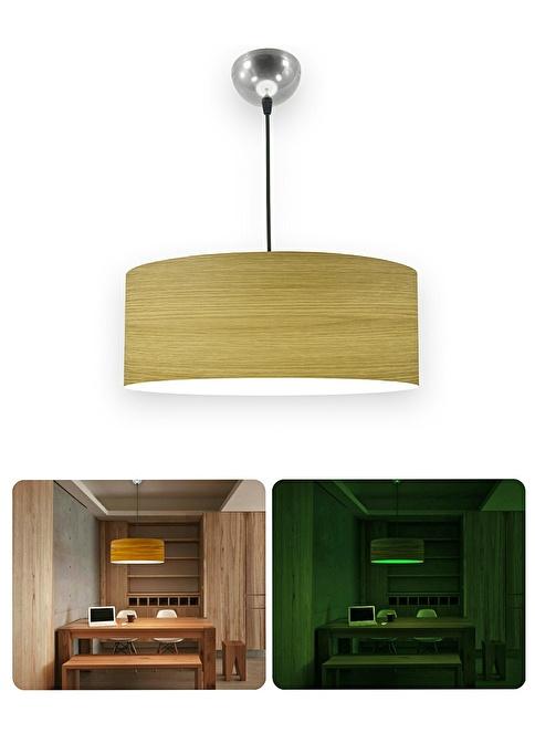 Crea Lighting Fosforix Sarkıt(45cm)Koyu Meşe Renkli
